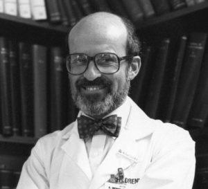 Portrait of Michael Scott, MD, in 1991